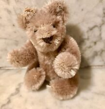 Vintage Steiff Teddy Bear Plush Animal Light Brown 3 Inch Germany Button Ear