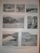 Photos Motor-Boat Week Monte Carlo France 1906