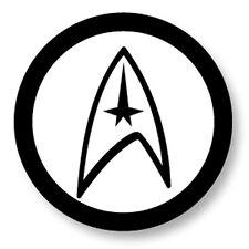 Porte clé Keychain Ø45mm Star Trek Science Fiction Enterprise Spock Kirk