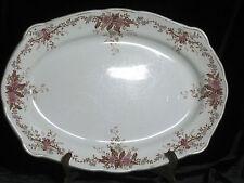 Platter Caledonia Mellor Taylor & Co England Semi Porcelain 14x10.25 Antique