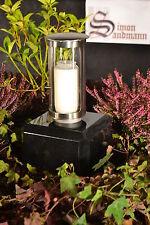 Grablampe   Grablaterne   Grabschmuck   Grab   Grablicht aus Edelstahl ->NEU<-