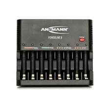 Ansmann Powerline 8 Charger - will charge up to  8 AA and AAA Batteries