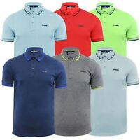 Mens Polo T Shirt Duck & Cover Acute Rich Cotton Short Sleeve Collared Top