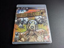 Borderlands 2 Etiqueta Negra Sony PLAYSTATION 3 PS3 LN Perfecto Estado Completo