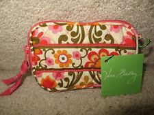 Vera Bradley TECH CASE Wallet Clutch Wristlet with strap-NWT! Retired!