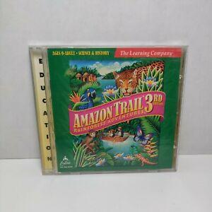 Amazon Trail 3rd Edition: Rainforest Adventures PC CD-ROM Win/Mac 1999 MINT DISC