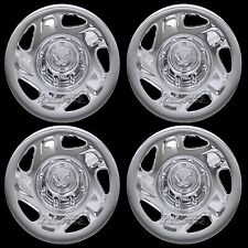 "4 DODGE Truck Van 16"" 8 Lug CHROME Wheel Covers Rim Full Hub Caps Ram 1500 2500"