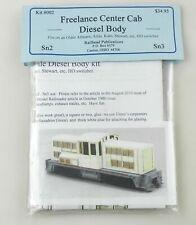 Mount Blue for Railhead Pub. Sn3 #002 Freelance Center Cab Diesel Body NOS ~T158