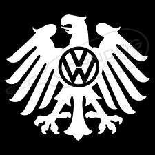 Eagle VW Logo VINYL STICKER DECAL VW VOLKSWAGEN GTI JETTA GOLF BEETLE BUG BUS