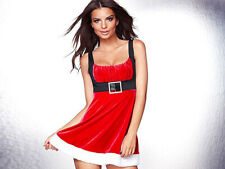 NEW! Frederick's of Hollywood SLEIGH BELLE 2X Sexy Womens Santa Babydoll Costume