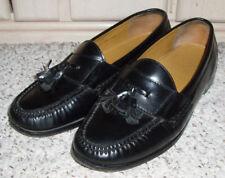 COLE HAAN Leather Tassel Loafer Dress Shoes~Black~Size 10.5 E