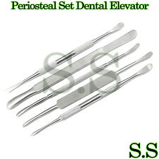 5 Periosteal Set Dental Elevator Surgical Instruments Dn 441