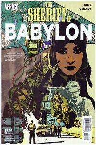 Sheriff of Babylon #9> Vertigo 2015> J P Leon Cover> VF-Never Read> Bg'd & Brd'd