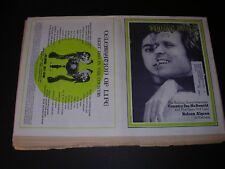 Vintage ROLLING STONE Quarter fold Newspaper #83 COUNTRY JOE 5.27.1971