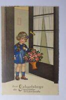 """Geburtstag, Kinder, Mode, Blumen, Korb, Rosen""  1931 ♥"