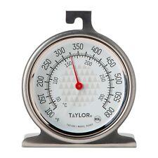 """Taylor Precision духовки циферблатный термометр новый 2.5"""" дизайна циферблата Нержавеющая сталь 3506"""