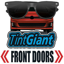 TINTGIANT PRECUT FRONT DOORS WINDOW TINT FOR GMC SONOMA STD 91-93