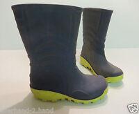 ANSEHEN # stabile GUMMISTIEFEL Gr. 25 blau Kinder Schuhe Stiefel Regenstiefel