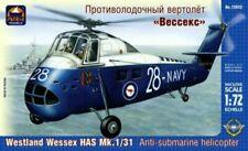 Submarinos de automodelismo y aeromodelismo de escala 1:72