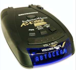BelTronics Radar Detector Professional Series (RX968) - In RUSSIAN