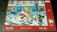 "Hop Jigsaw 250 Xl pieces. "" Kitty Litter "" in Very Good Complete Condition."