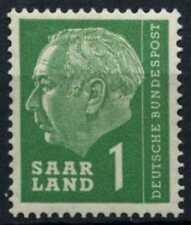 Saar 1957 SG#377, 1f President Heuss Definitive MNH #D70755