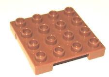 NEU Dunkelbraun Dunkelbeige braun 2x6 Platten Lego 3003 5 Teile
