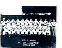 1950 JOPLIN MINERS TEAM  8x10 PHOTO MICKEY MANTLE YANKEES  BASEBALL HOF USA