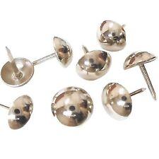 decotacks Silver Finish Upholstery Nails/tacks 7/16in - 500 Pcs [Nickel/Silve...