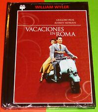 VACACIONES EN ROMA / ROMAN HOLIDAY - DVD R2 - DVD + LIBRO PRECINTADA