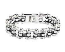 Steiger Case Chain Bracelet Stainless Steel Black Silver Ford John Deere Farmal