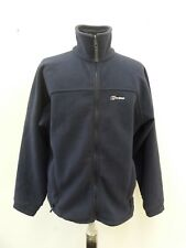 B815 WOMENS BERGHAUS BLUE ZIP UP FLEECE LONG SLEEVE JACKET XL 16