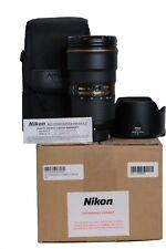 Nikon AF-S NIKKOR 24-70mm f/2.8E ED VR Lens for F Mount DSLR Camera Bodies USA