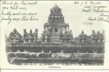 Malaya-Strait Settlements SG#128(single frank) B-PENANG MY/16/1905 postcard