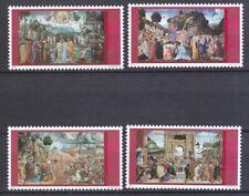 Briefmarken Mariendarstellungen Im Petersdom Kunst & Kultur Vatikan Aus 2002 ** Postfrisch Minr.1394-1403