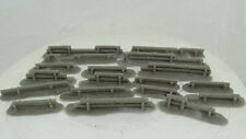 Log Barricades / Walls. 15mm.1:100 Scale. Set of 18 hand cast resin (BL993)