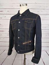 Diesel Men's Dark Indigo Blue Denim Size XL Jean Jacket