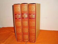 la sacra bibbia edizione in 8° grande con astuccio ,illustrati ,1970 3 volumi