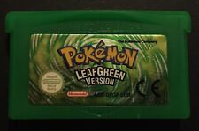 Pokemon Leafgreen Gameboy Advance Game Original Kanto Region Cartridge Only RARE