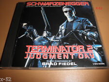 TERMINATOR 2 CD soundtrack score JAMES CAMERON brad fiedel 20 tracks T2 ost