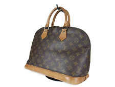 LOUIS VUITTON Alma Monogram Canvas Leather Hand Bag LH2598