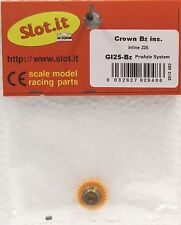 SLOT IT SIGI25B 25 TOOTH POLYMER INLINE CROWN GEAR 3/32 , NEW 1/32 SLOT CAR PART