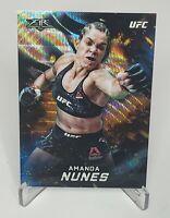 2019 Topps UFC Knockout Fire Wave Refractor /99 Amanda Nunes #UFCF-AN