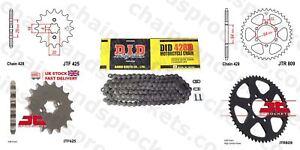 DID Chain Sprocket Kit JTF425.15 / JTR809.44 428/114 links