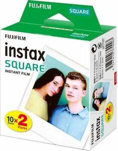 FUJIFILM  INSTAX SQUARE Filme Doppelpack für 20 Fotos SONDERPREIS!!! MHD 08/2020