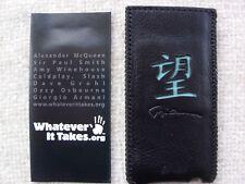 Brand New Giorgio Armani Apple iPod nano 4 gen VIDEO leather Slip case
