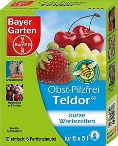 Obst-Pilzfrei Teldor Protect Garden 30 g gegen Pilzkrankheiten