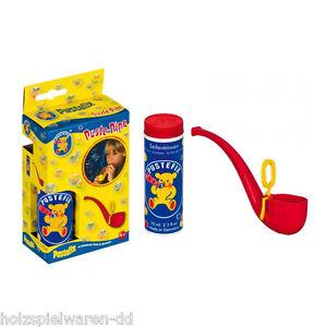 "Pustefix 869-435 Soap Bubbles Set "" Blow Pipe "" Incl. 70ml Fluid New! #"