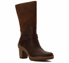 EL NATURALISTA SHOES LICHEN NF75 BOOTS BROWN LEATHER 39 NEW NIB