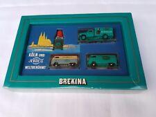 BREKINA 1:87 4711 KÖLN und WELTBERÜHMT 2 x VW T1 + OPEL BLITZ +PARFUM FLACON OVP